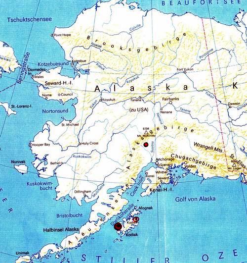 Polarkreis Alaska Karte.Fliegenfischer Forum Reiseberichte Mit Dem Schlauchboot In